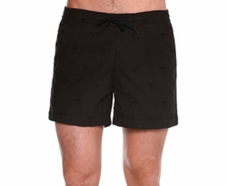Tomas Maier - Tonal Palm Tree Embroidered Swim Shorts