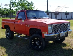Chevrolet - 1981 K10-4X4 Monster Truck