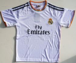 2013/2014 Real Madrid Home  - Ronaldo 7 Football Soccer Kids Jersey
