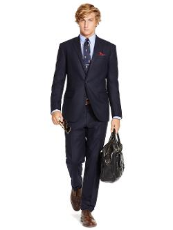 Polo Ralph Lauren - Navy Flannel Suit