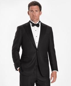 Brooks Brothers - Golden Fleece One-Button Peak Tuxedo Suit