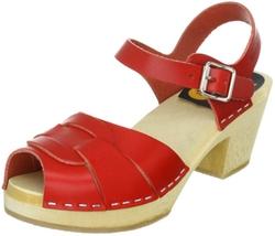Swedish Hasbeens - Peep Toe High Sandals