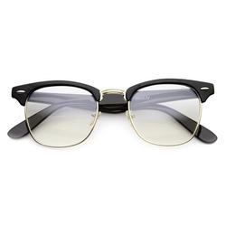 ZeroUV - Horn Rimmed Clear Lens Glasses