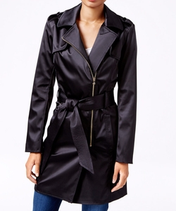 Guess - Raffie Satin Trench Coat