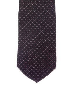 Gucci - Geometric Print Silk Tie