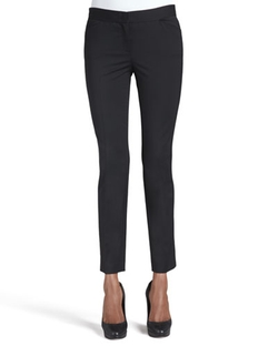 Lafayette 148 New York - Wool-Stretch Cropped Skinny Pants