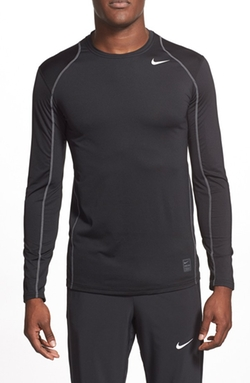 Nike  - Pro Cool Compression Fitted Long Sleeve Dri-FIT T-Shirt