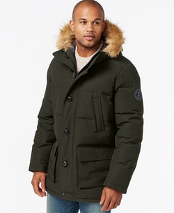 Tommy Hilfiger  - Long Snorkel Jacket