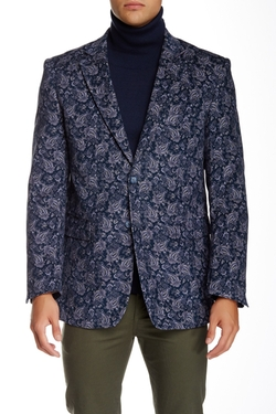 Natural Blue - Paisley Sportcoat