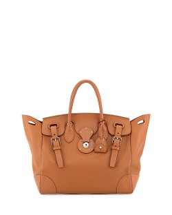 Ralph Lauren	  - Calfskin Satchel Bag