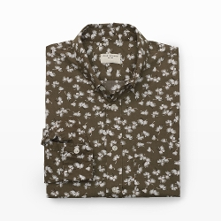 Club Monaco - Slim-Fit Dandy Floral Shirt