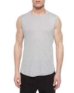 Helmut Lang  - Crewneck Knit Muscle Tank Top