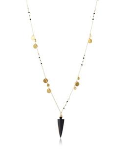 Ashiana London - Onyx Arrowhead Necklace