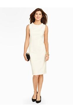 Talbots - Italian Flannel Sheath Dress