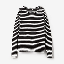 R13 - Striped Long Sleeve Tee Shirt