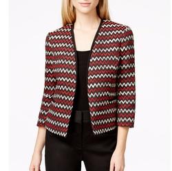 Kasper  - Petite Zigzag Tweed Jacket