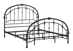 Dorel Living  - Queen Metal Bed