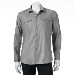 Marc Anthony  - Slim-Fit Button-Down Shirt