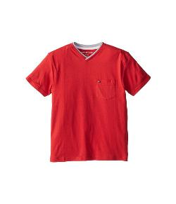 Tommy Hilfiger Kids - Isenov S/S V Neck Pocket Tee