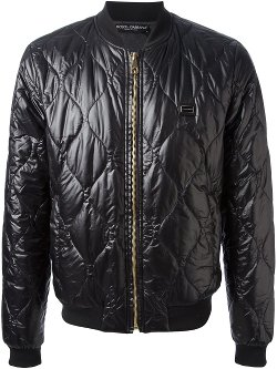 Dolce & Gabbana  - Quilted Bomber Jacket