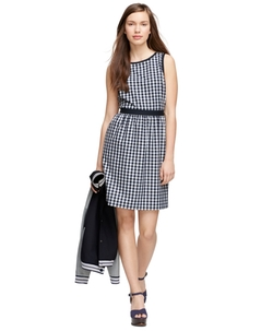 Brooks Brothers - Gingham Sleeveless Dress
