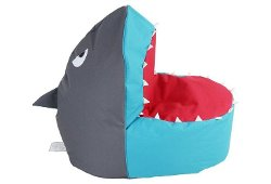One Kings Lane - Shark Bean Bag Chair