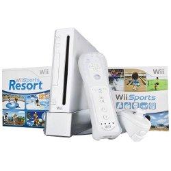 Nintendo - Wii Bundle with Wii Sports & Wii Sports Resort