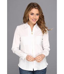 Anne Klein  - Zip Front Unlined Shirt