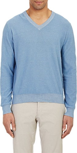 Piattelli - V-Neck Sweater