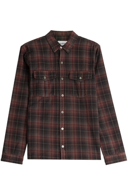 Zadig & Voltaire - Plaid Cotton Button-Down Shirt