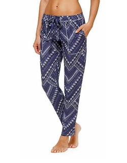 Kensie - Kickin Back Patterned Pajama Pants