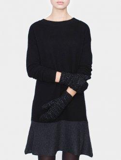 White + Warren - Boucle Mitten Gloves