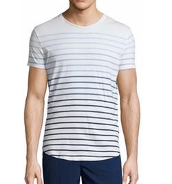 Orlebar Brown - Gradient-Stripe Short-Sleeve T-Shirt
