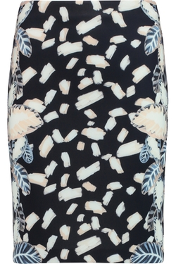 Opening Ceremony - Printed Neoprene Mini Skirt