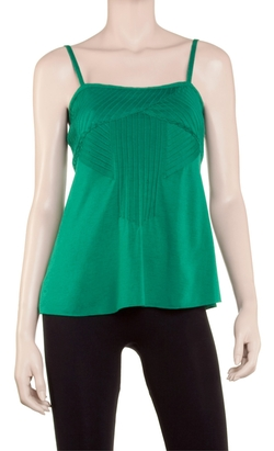 Max Studio - Pintucked Camisole Top