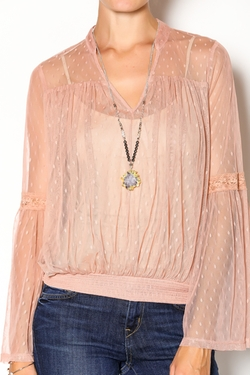 Double Zero - Rose Quartz Blouse