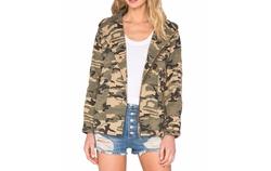 Capulet - Hooded Military Jacket