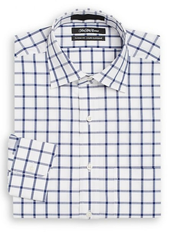Saks Fifth Avenue - Windowpane Check Dress Shirt