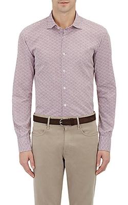 Glanshirt  - Neat Print Shirt