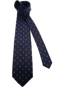 Céline Vintage - Print Tie