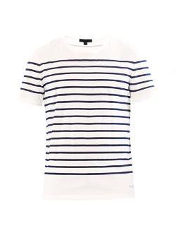 Burberry Prorsum  - Striped Cotton T-shirt