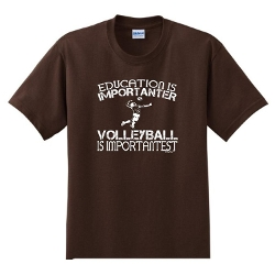 ThisWear - Volleyball Is Important Funny Youth T-Shirt