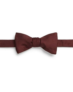 Carrot & Gibbs  - Grosgrain Silk Bow Tie