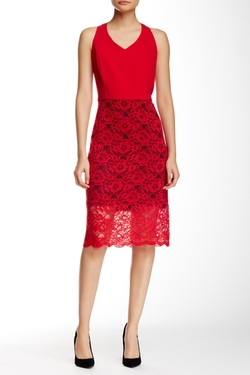 Kensie  - Lace Midi Dress