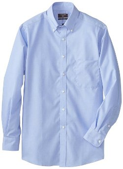 Dockers - End On End Solid Dress Shirt