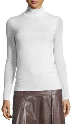 Halston - Heritage Long-Sleeve Slim Turtleneck Top