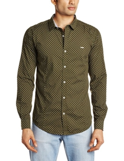 Basics - Print Longsleeves Casual Shirt