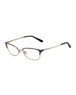 Jimmy Choo - Animal-Temple Optical Frame Glasses