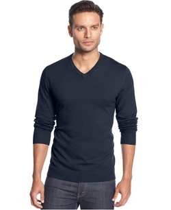 Alfani - V-Neck Sweater