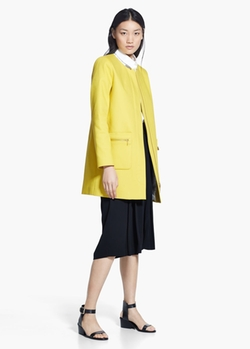 Mango - Minimal Pockets Coat